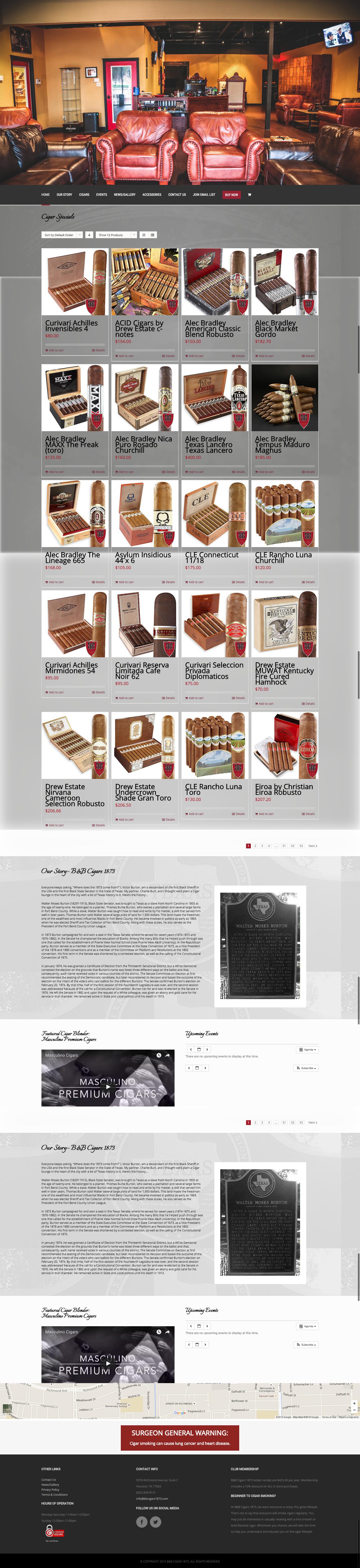 B B Cigar Lounge - Portfolio