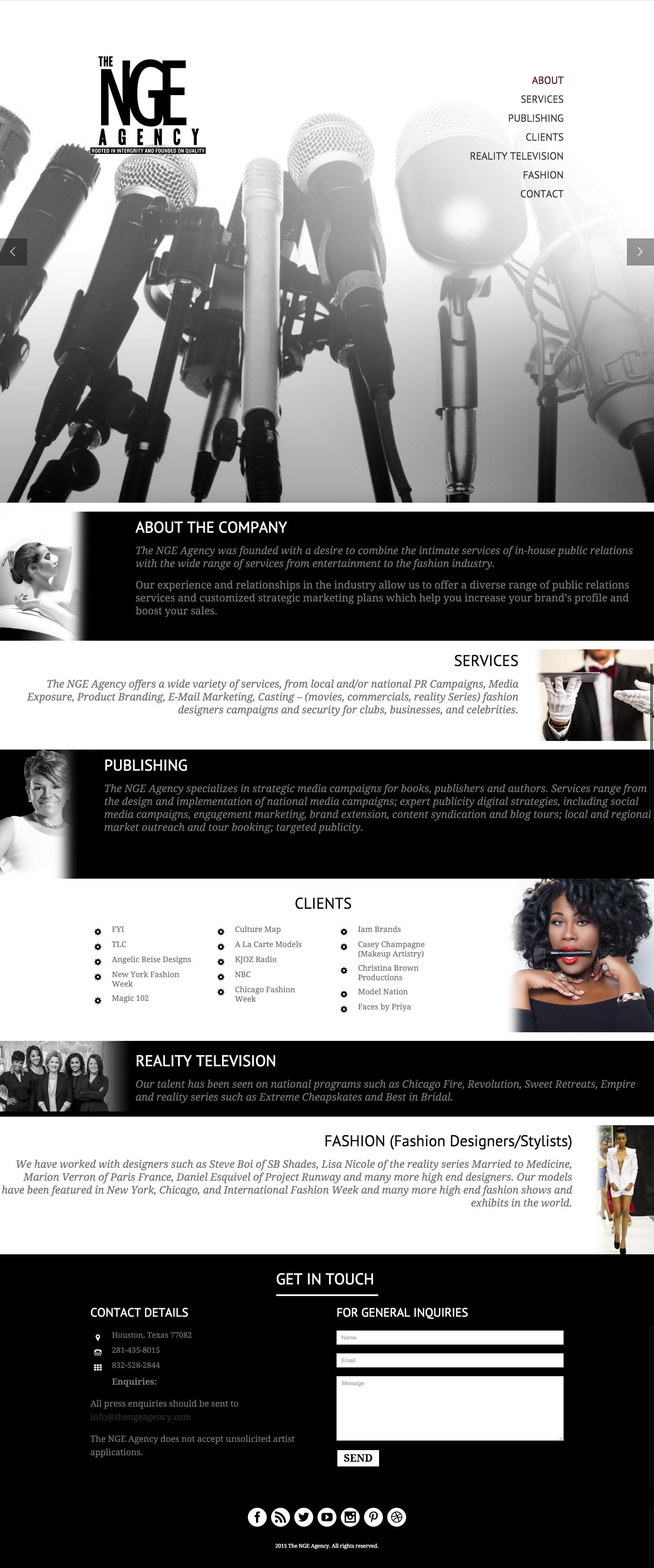 The NGE Agency - Portfolio